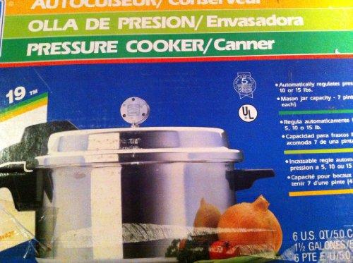 Mirro 6 Quart Pressure Cooker Canner M-1956