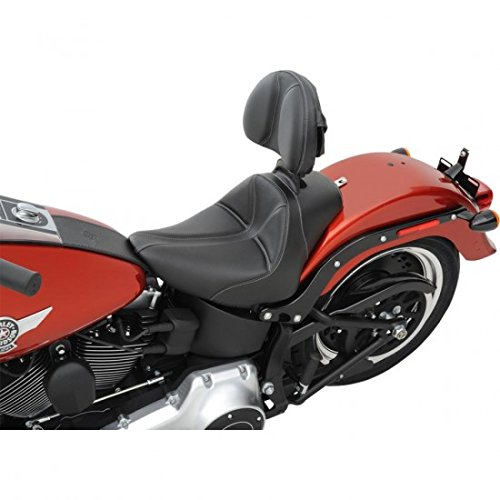 Saddlemen Dominator Solo Seat Backrest - Driver Backrest Solo