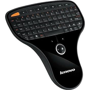 Lenovo N5901 - Teclado (RF inalámbrico, Negro, USB, Corriente alterna, 10 - 40 °C, HTPC): Amazon.es: Informática