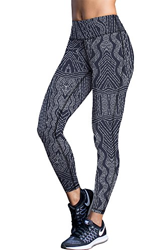 icyzone Womens Workout Legging See Through