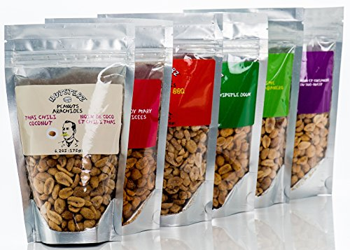 Mega Snack Pack, Over 15lbs of Dried Fruit, Trail Mixes, Nutsterz Spicy Peanuts, and Assorted Basse Nuts - Variety Pack of Superfoods and Healthy Snacks for Good Energy & Nutrition (27 Bags Total) by Basse (Image #4)