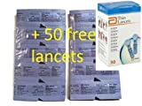 Precision Xtra Blood Glucose 100 Test Strip + 50 FREE LANCETS-3 DAYS DELIVERY