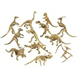 Super Educational Dinosaur Skeleton Figures - Set of 12
