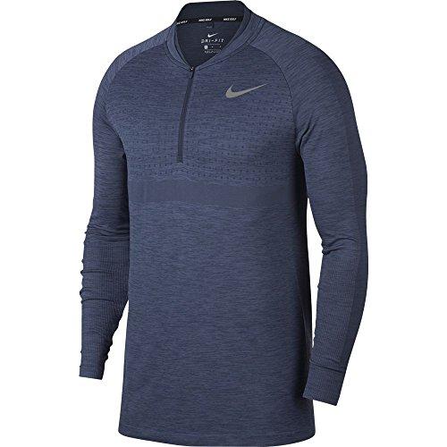 Nike Dri Fit 1/2 Zip Seamless Top Golf Pullover 2018 Light C