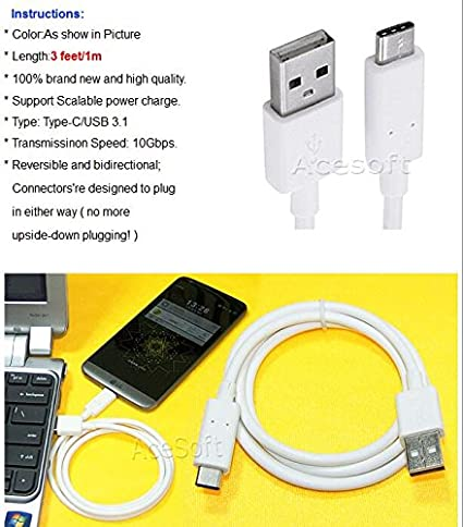 USB Type C Male to Micro USB Cable Adapter For LG G5 H820 H830 VS987 LS992 US992