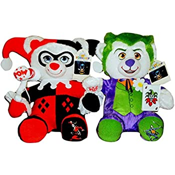 build a bear harley quinn and the joker teddy. Black Bedroom Furniture Sets. Home Design Ideas