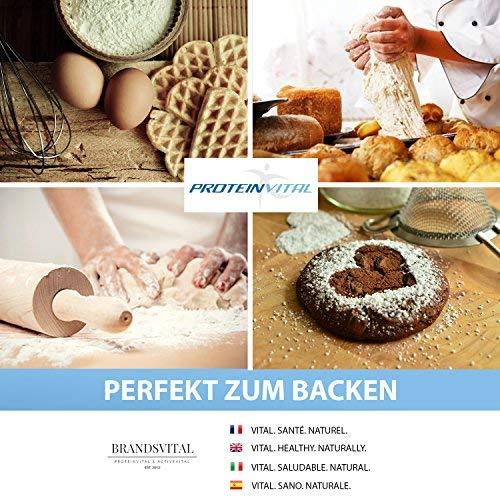 PROTEINVITAL 100% Bio Whey - 1000g suero dulce de polvo proteinico 100% natural de origen alemán- neutro & bajo en hidratos de carbono - Polvo de proteina ...