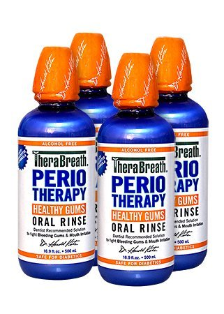 Periotherapy Oral Rinse 4 Pack (Care Oral Gum Rinse Periotherapy)