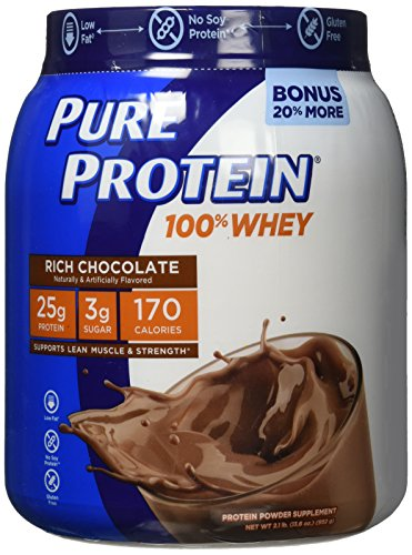 Pure Protein Whey Protein Shake - Frosty Chocolate - 28oz