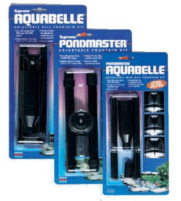 Pondmaster 02077 Aquabelle Variable Fountain Head Kit by Pondmaster
