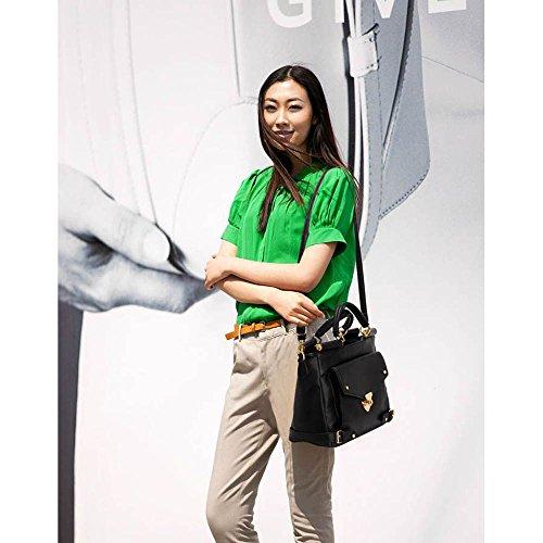 TrendStar - Bolso estilo cartera para mujer D - BLACK