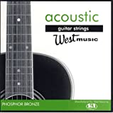 West Music 13-56 Phosphor Bronze Acoustic Medium Guitar Strings