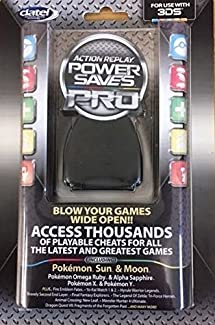 Amazon com: Datel Action Replay Power Saves Pro 2017 - Game