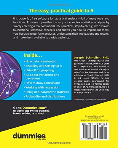Statistical analysis with r for dummies livros na amazon brasil statistical analysis with r for dummies livros na amazon brasil 9781119337065 ccuart Images
