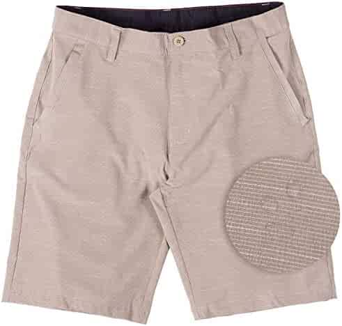 012142bf98 Burnside Hybrid Stretch Shorts for Mens Lightweight Boardshorts Grey