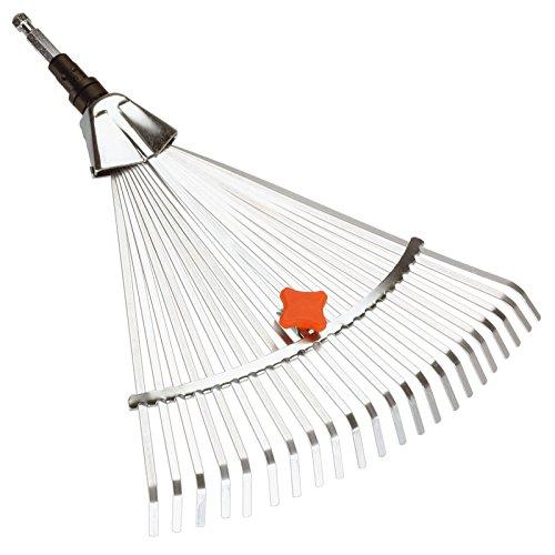 Gardena 3103 Combisystem 12-Inch To 20-Inch Adjustable Metal Fan Rake Head by Gardena