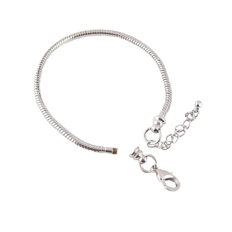"Amazon Childrens Kids Bracelet Fits 6"" 8"" Snake Chain"