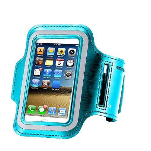 iPhone X /8/7 / 6S / 6 / 5S / 5c Sports Armband,CaseHQ Phone Holder-Great for Running,Workouts or Any Fitness Activity, Strap for Stores Cash, Cards and Keys. Fits Smartphone 4.5