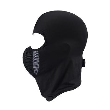 MagiDeal Máscara de Casco Moto Montar A Prueba de Viento Al Aire Libre Anti-polvo