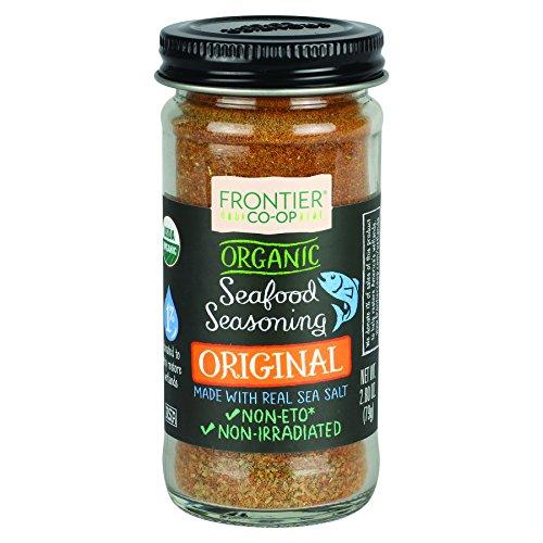 Frontier Organic Seafood Seasoning  Original  2 8 Ounce