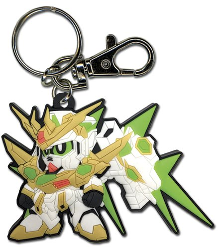 GE Animation Star Winning Gundam PVC Keychain Cool Anime Item