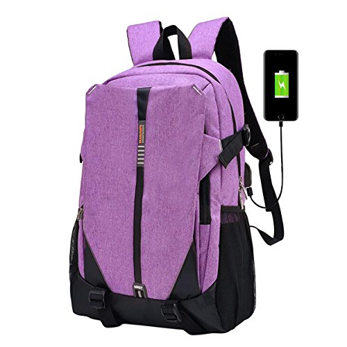 f604d85ed6c2 ABage 15.6 Inch Laptop School Backpack Hiking Daypack Bookbag with USB  Charging Port