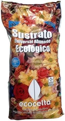 Ecocelta Sustrato Universal ecológico 50 l, Negro, ZA35