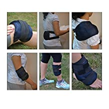 Easy Ice Cold / Hot Gel Packs With Belt. Multipurpose usage: Knee/ Back/ Elbow/ Shoulder/ Leg/ Ankle
