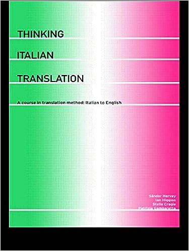 Translate Italian to English please?