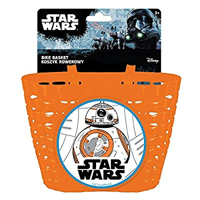 Disney Children's Fahrradkorb Bb8 Star Wars Bicycle Basket, Multicoloured, S : Sports & Outdoors