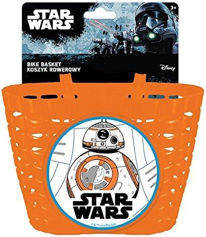 Disney Enfants Panier /à v/élo BB8/Star Wars S Plus de Couleurs