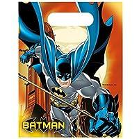Batman bolsas de fiesta, 6unidades)