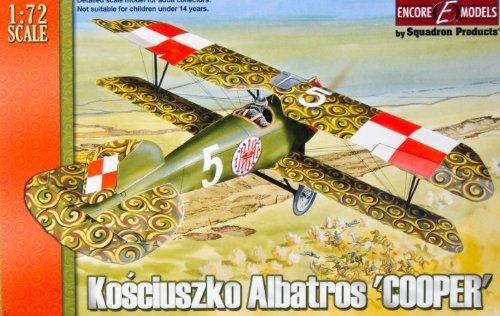 I modelli Encore 72103-1 72   CE Kosciuszko Aircraft Albatros Cooper