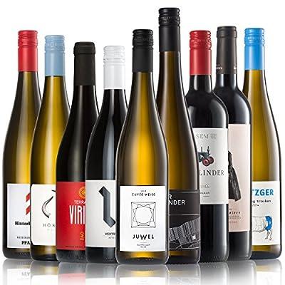 GEILE WEINE Weinpaket ALLSTARS (9 x 0,75l) | Trockener Weißwein, Rosé und Rotwein im Probierpaket | Wein von Winzern aus…