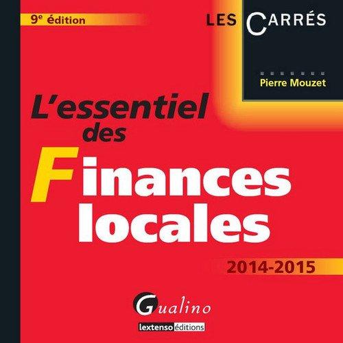 L'essentiel des finances locales 2014-2015