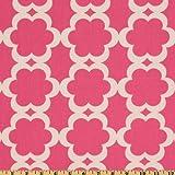 Taza Tarika Fuchsia Fabric By The Yard