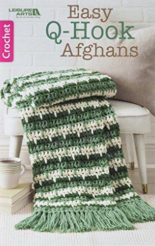 Easy Crochet Afghans - Easy Q-Hook Afghans | Leisure Arts (75583)