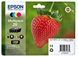 EPSON Strawberry Ink Cartridge for Expression Home XP-445 Series, Assorted, Genuine