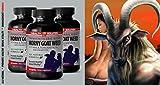 L-arginine with pycnogenol - HORNY GOAT WEED - libido improvement (3 bottles)