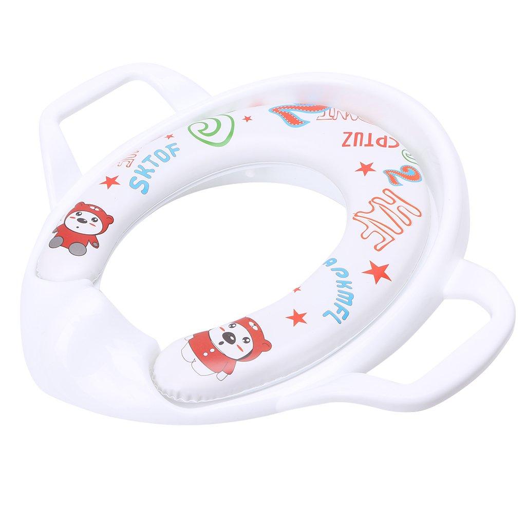 el Inodoro con Orinal para beb/és Azul LDA Get Fresh el Inodoro Infantil para beb/és los ni/ños de Entrenamiento Coj/ín para Pedestal del Asiento del Asiento