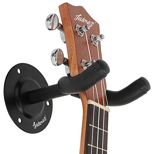 Juarez JRZ100 Guitar Wall Hanger/Mount With Fittings/Accessories, Black product image