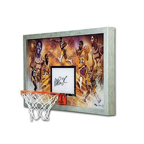 Magic Johnson Hand Signed Autographed Custom Framed Champion Backboard /32 - NBA Autographed Miscellaneous Items