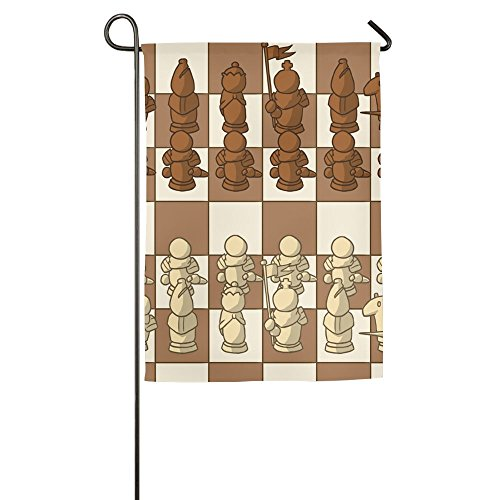 Chess Summer Beachy Decorative Yard Garden Flag 12 X 18 Without Holder And Polese Welcoming Flag