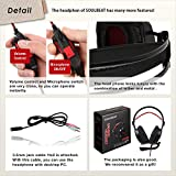 Soulbeat PS4 Gaming Headset LB-901 Headphones with noise cancelling microphone for Xbox PC Laptop
