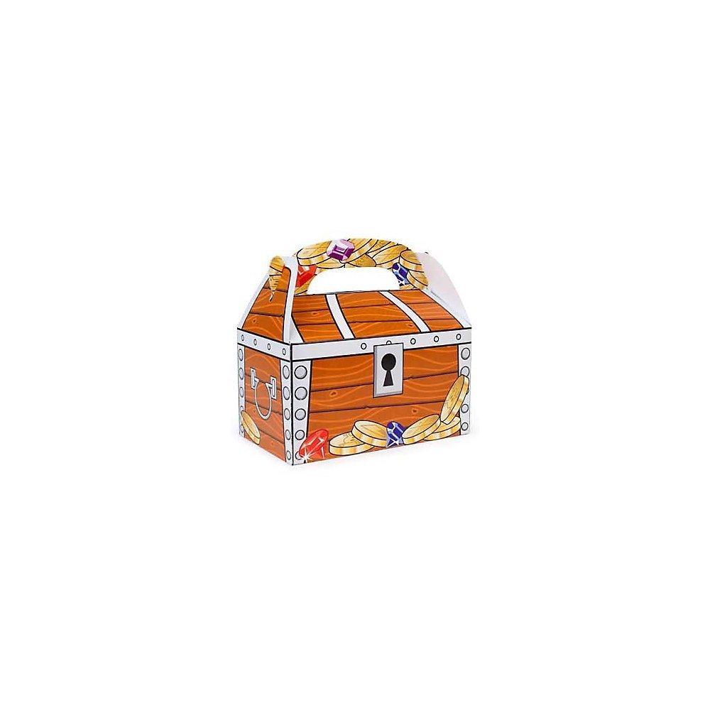 Amazon.com: Fun Express Treasure Chest Treat Boxes (1 Dozen), Bulk ...