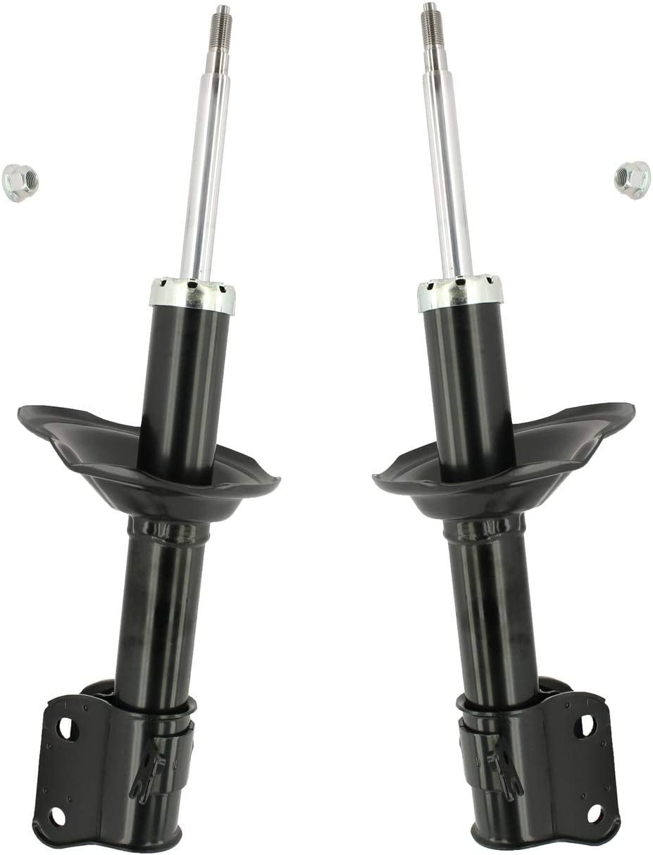 Pair Set of 2 Front KYB Excel-G Suspension Struts For Subaru Forester 2003 Without Self-Leveling Rear