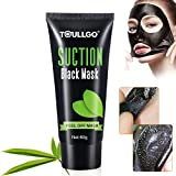 blackhead mask Black Mask Blackhead Remover, Facial Masks Peel Off, Suction Cleaner Black Mask Tearing Resist Oily Skin Strawberry Nose Purifying Deep Cleansing, with 2 free nose masks
