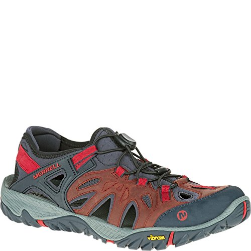 Merrell Men's All Out Blaze Sieve Water Shoe, Red, 9 M US