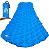 Presenting the most compact camping air pad you've ever owned!Stylish, practical and comfortable! Sleeping pads for backpacking meets all these requirements: Don't worry anymore about that little space for a blow up mattress. Put ultralight backpacki...