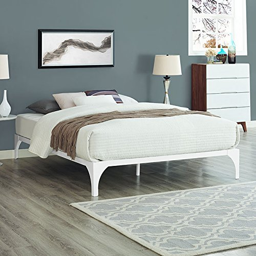 Review LexMod Ollie King Bed Frame in White